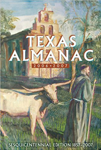 Cover of Texas Almanac